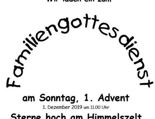 Familiengottesdienst, Sonntag, 1. Advent