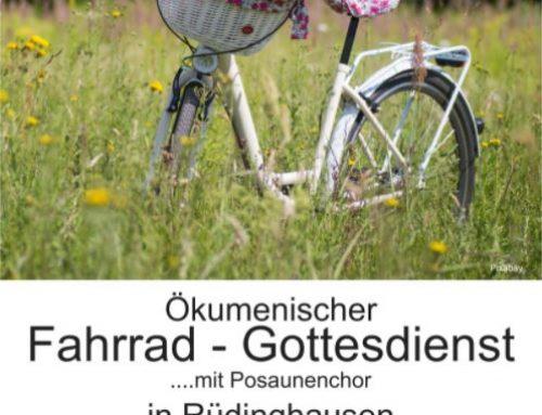 Fahrradgottesdienst, Rüdinghausen, So. 23. August