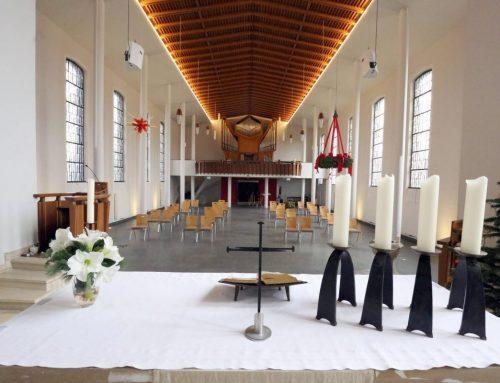 Friedenskirche baut auf